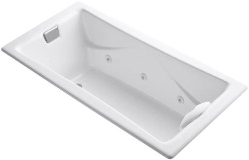 KOHLER K-865-N1-0 Tea-For-Two 6-Foot Whirlpool, White