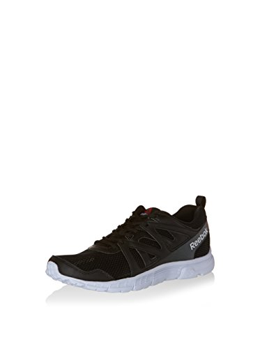 Reebok Run Supreme 2.0 Zapatillas de running, Hombre Negro / Gris / Blanco (Black / Alloy / White)