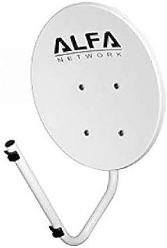 Alfa Network Dish-N - Antena parabólica, diseño Especial para ...