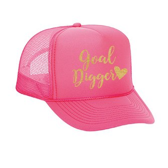 Goal Digger Trucker Hat (One Size fa7a71c5006