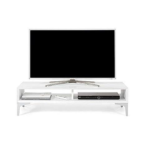 Tavolino X Tv.Mobili Fiver Deep Mobile Tv Stand Wood Ash White 112 X