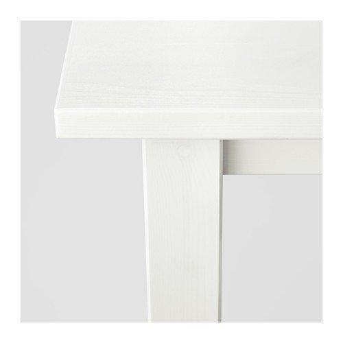 Ikea Hemnes 90x90cm Couchtisch In Weiß Aus Massivholz 90x90cm