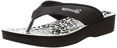 Aerowalk 0897 BLACK Slipper for Women