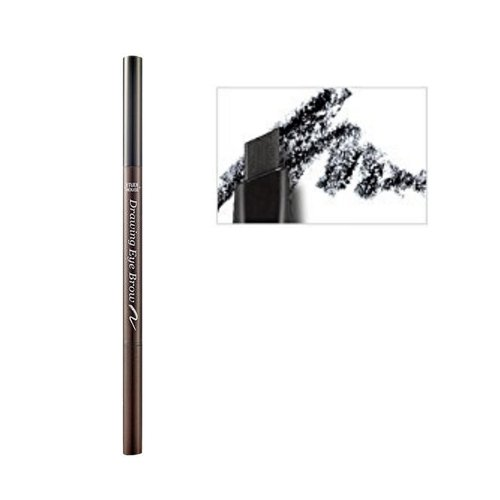 etude house drawing eyebrow black - 7