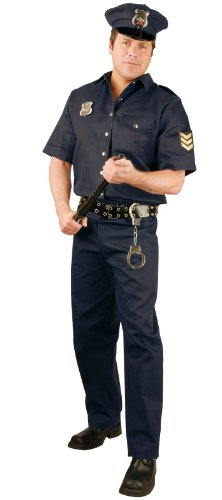Police Officer Adult Costume Size Large (42-44)