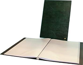 grün 10 Hüllen Sichtbuch- Sichtmappe DIN A4 Alevar 2183//10