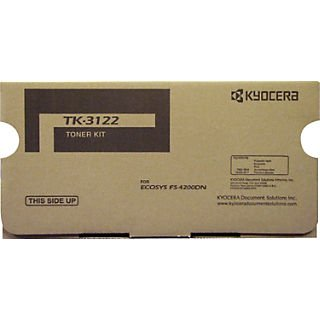 Kyocera Toner Cartridge + Waste Container, 21000 Yield (TK-3122)