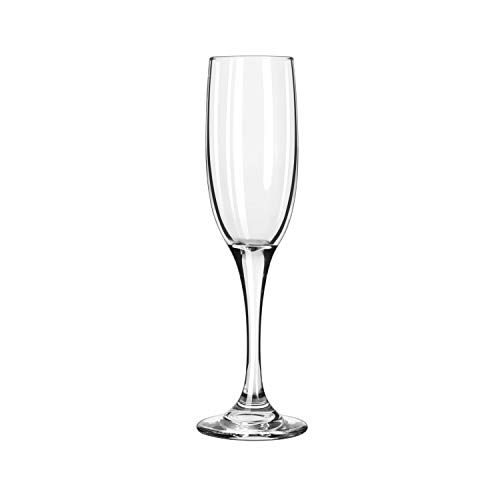 Libbey Glassware 3796 Embassy Royale Tall Flute, 6 oz. (Pack of 12)