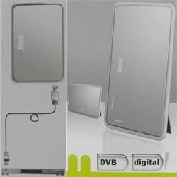Activa DVB-T antena interior para fuente de alimentación para ...