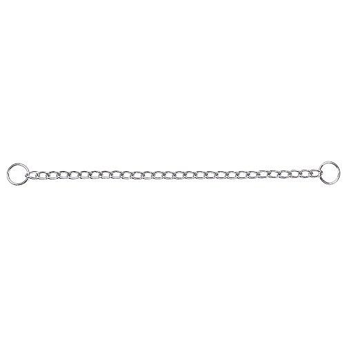 Terrain D.O.G. Chain Slip Collar, Chrome Plated