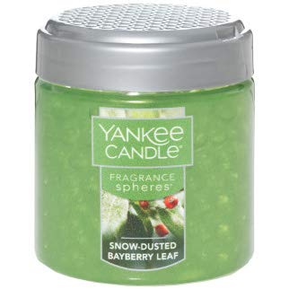 - Yankee Candle Snow-Dusted Bayberry Leaf Fragrance Sphere 6 Ounce