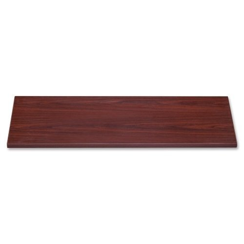 Lorell 69025 Lateral File Top, 42'' x18-5/8 x1, Mahogany by Lorell