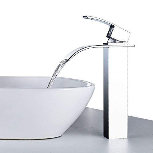 ERNTOGO Wasserhahn mit Ausziehbare Brause Badarmatur Waschbecken Mischbatterie Chrom Waschtischarmatur Einheblemischer Bad Armatur fr Badezimmer