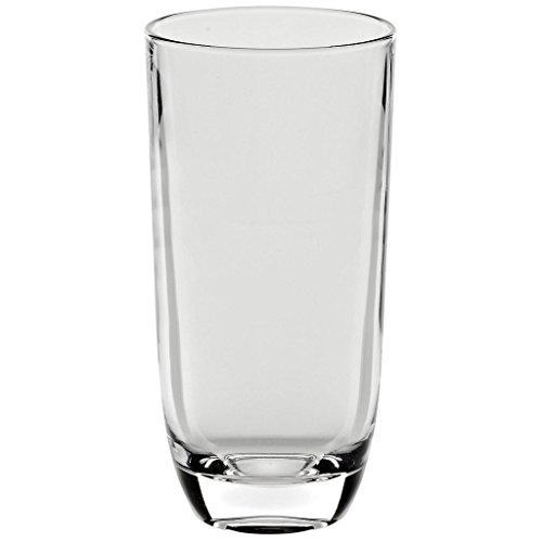 Drinking Glass, water glass ''Laguna Spirits'' 300ml, transparent, modern style, glass (GERMAN CRYSTAL powered by CRISTALICA) by CRISTALICA (Image #1)