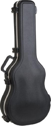 SKB 000 Size Acoustic Shaped Hardshell - TSA Latch, Over-Mol