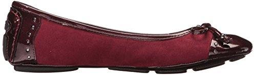 Klein Anne Frauen Dark Wine Ballerinas Flach Fabric Buttons dBBfvnAS