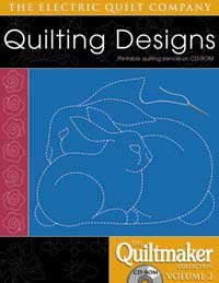 (Electric Quilt Quiltmaker Volume 2 Software)