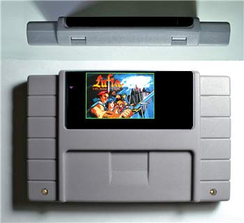 ASMGroup 16 Bit 46 Game Card Game Cartridge For USA Version Game Player - Lufia Fortress Of Doom