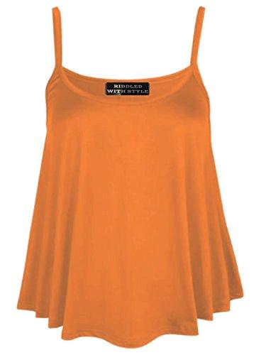 ROBE SIGE POUR DBARDEUR DE LONG MOTIF FAIRIES FEMME MANCHES SANS ENSEMBLE Orange 8 TAILLE BRETELLES FASHION TAILLE 26 YP7wq5