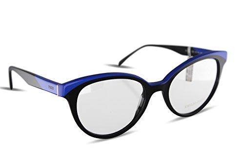 1bd5733e9717a3 Emilio Pucci - Monture de lunettes - Femme Multicolore Multicolore  Multicolore - Noir bleu