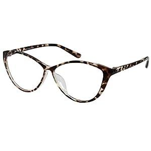 Ebe Women Designer Glasses Cat Eye Reading Glasses Reader Cheaters Tortoise +1.50 by EyeBuyExpress