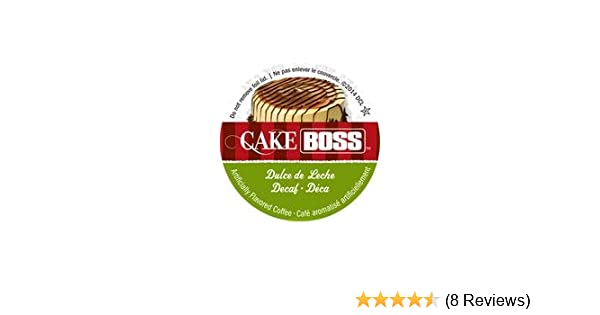 Cake Boss Coffee - DECAF Dulce de Leche - 48 Single Serve K Cups for Keurig Brewers: Amazon.com: Grocery & Gourmet Food
