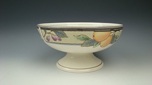 Mikasa Intaglio GARDEN HARVEST Crudite Footed Bowl(s) Multiple Avail. ()