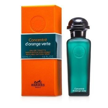 100% Perfume Concentrate (Hermes D'Orange Verte Eau De Toilette Refillable Concentrate Spray 50ml/1.6oz)