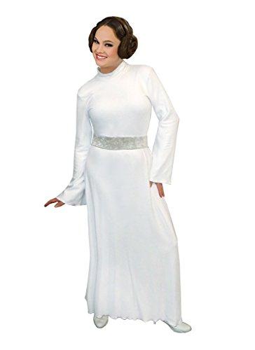 Sanctuarie Designs Princess Leia Plus Size Supersize Halloween Costume Dress & Bun Headband 1x -