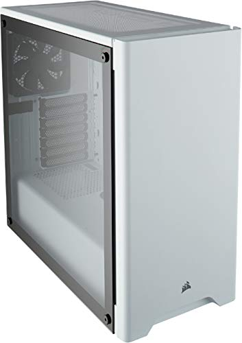 Corsair Carbide Series 275R Tempered Glass Mid-Tower ATX Gaming Case – White