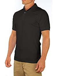 a828764211 Men s Perfect Slim Fit Short Sleeve Soft Fitted Polo Shirt