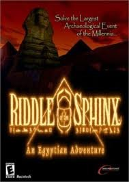 CD-ROM Riddle of the Sphinx: An Egyptian Adventure Book