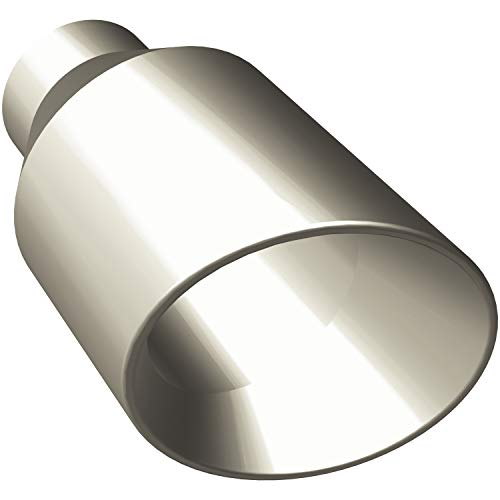 Magnaflow 35121 Stainless Steel Round-Angle Cut Double Wall Exhaust Tip