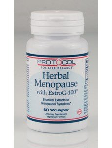 Herbal Menopause phytoestrogen free with EstroG 100 60 VegiCaps