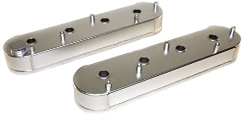PRW 4034630 Satin Anodized Aluminum Fabricated Valve Cover with Coil Stand-Off and Silver Gasket for LS Series Engine - - Off Valve Gasket