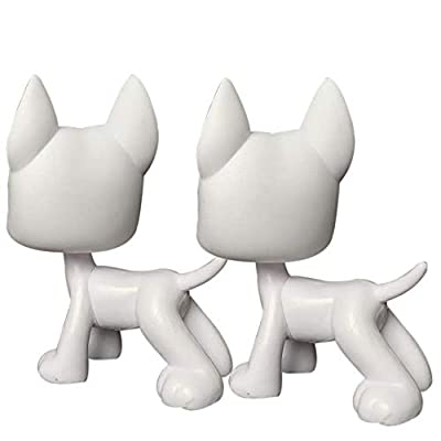 Judylovelps lps Great Dane White Molds(2pcs) Custom Great Dane Patinting Your Own Designs Figures with lps Accessories: Home & Kitchen
