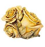 Double Yellow Rose....... Harmony Kingdom HGLEDYR