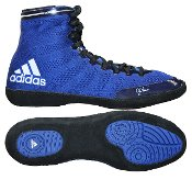 adidas Adizero Varner Wrestling Shoes - Royal/White/Black - 7