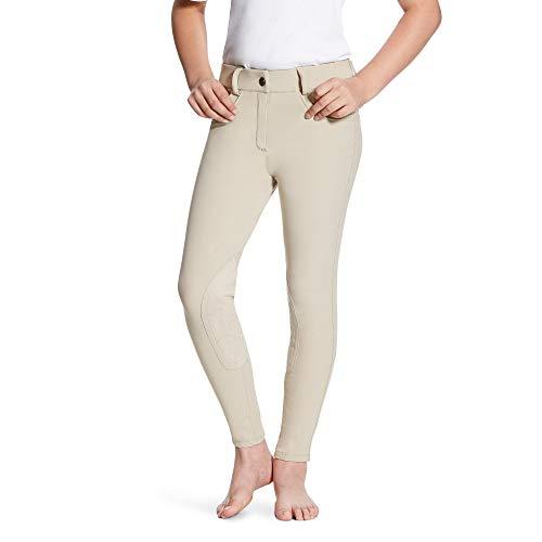 (ARIAT Kid's Olympia Knee Patch Breech Tan Size 12)