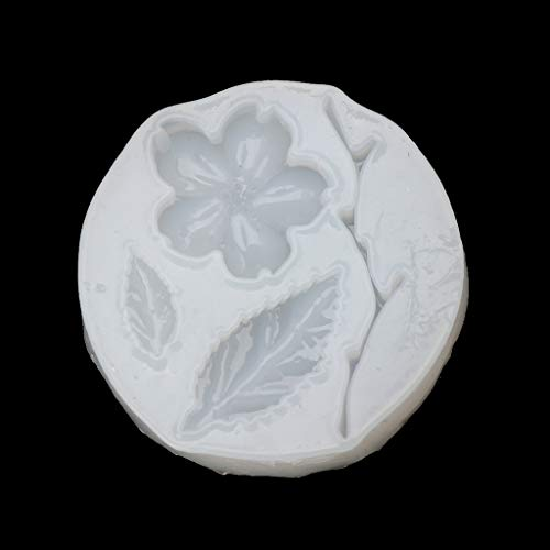 Cicitop Flower Leaf Tree Branch Pendant Silicone Mold Epoxy Resin Craft Jewelry Making Resin Jewelry Molds