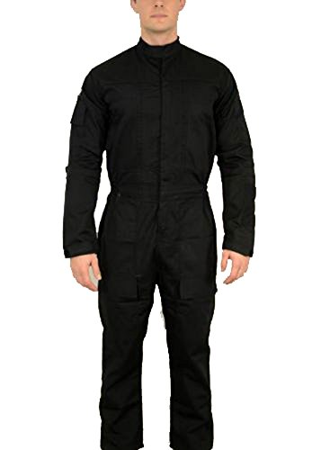 TIE Jumpsuit Star Wars Pilot Flightsuit Uniform Costume (M)]()