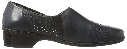 Rieker Women's 48265 Loafers Blue (Lake/Pazifik / 14) aWmqZws9