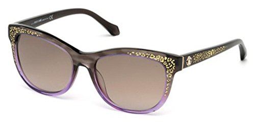 (Roberto Cavalli SUNGLASSES RC 991 991 RC991S (DARK BROWN-50F))