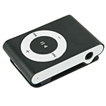 MINI Clip MP3 Player (Black) with card slot Supports up to 8GB MicroTF card