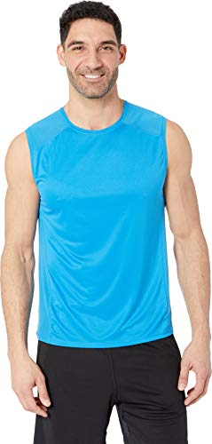 Brooks Men's Stealth Sleeveless Azul Medium (Brooks Running Shirts)