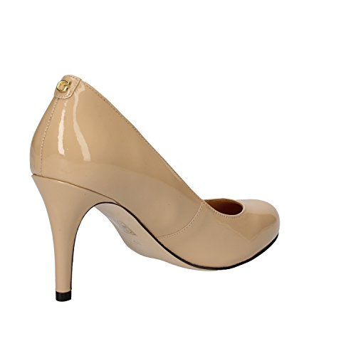 Guess - Zapatos de vestir de charol para mujer beige beige