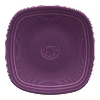 - Fiesta Square Salad Plate - Mulberry Purple