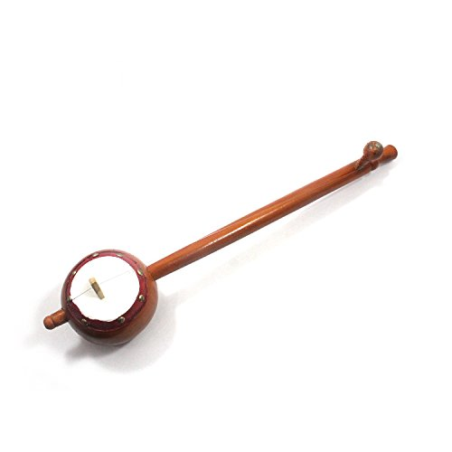 IMI 100% Pure Handmade Fine Crafted Indian Musical Instruments Wooden Playing Iktara (Tumbi) Made By Indian National Awarded Artisan Size: – H-8 x L-51 x W-10 (Cms) Home Decor, Office Décor