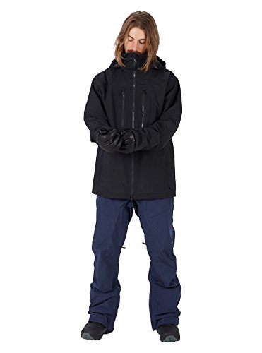 Burton Men's AK 2L Swash Jacket, True Black, XX Large