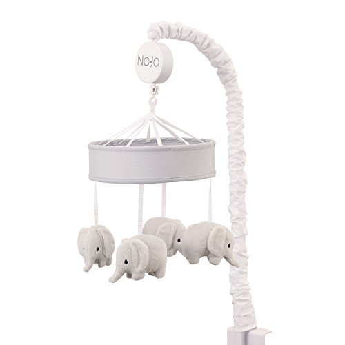 - NoJo Dreamer - Grey Elephants Musical Mobile